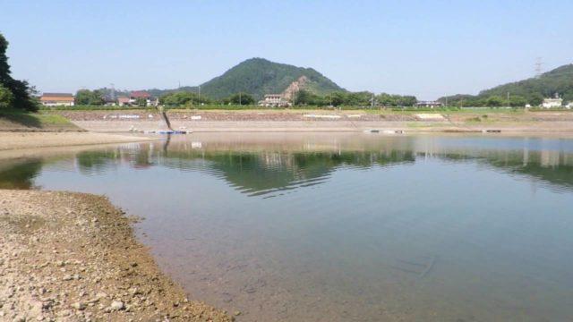 愛知バス釣りポイント 愛知県入山市 入鹿池