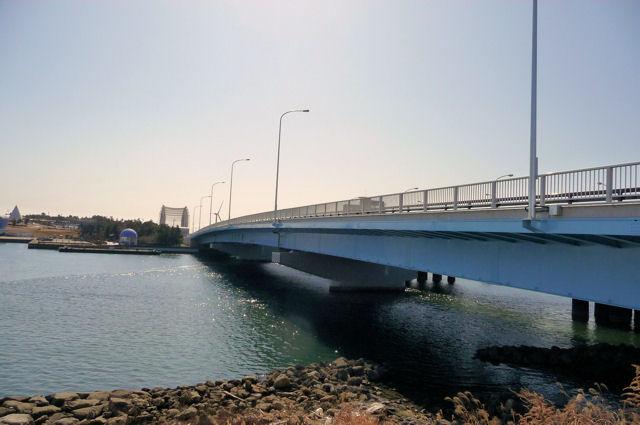 東京湾シーバスポイント砂町南運河 【若洲橋】