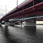 京浜運河シーバスポイント【城南大橋】